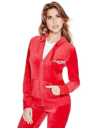 (VKN Fashions 2 Piece Velour set Hoodie winter Track Suit Women/Girls XL XXL XXXL (L, HALE BOB YSV003 Red))