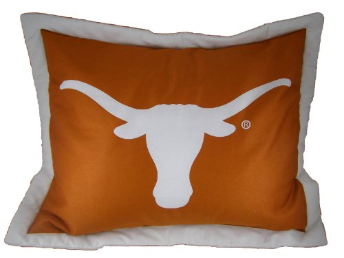 College Covers Texas Longhorns Printed Pillow Sham by College Covers (Image #1)