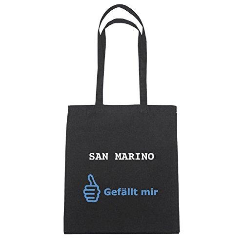 Mir Schwarz San En Sac Herz B4898 Marino Hände Jollify Coton Gefällt Natur PznOz