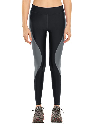 Ekouaer Womens Waisted Workout Leggings product image