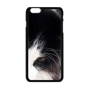 Black White Cat Black Phone Case for Iphone6 plus