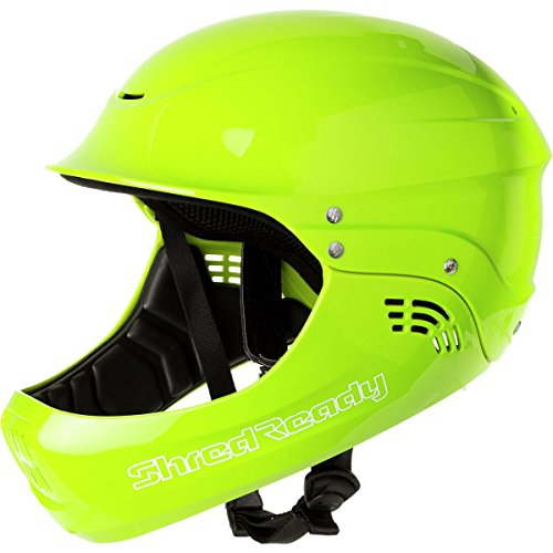 Shred Ready Standard Full Face Whitewater Kayak Helmet-Green by Shred Ready