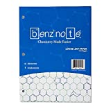 BENZNOTE, Loose Leaf Filler Paper, for Organic and