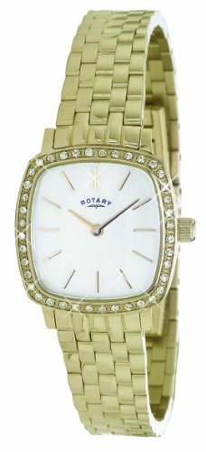 Rotary LB02405-40 Ladies Windsor Slim Gold Plated Watch