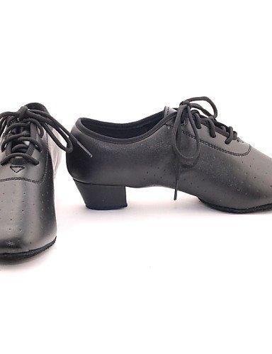 Chaussures Flocage talon personnalisable Moderne Noir danse ShangYi de Red Non Rouge Gros dzZnT