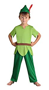 Cesar F038-001 - Disfraz de Peter Pan (3 años) , Modelos/colores Surtidos, 1 Unidad