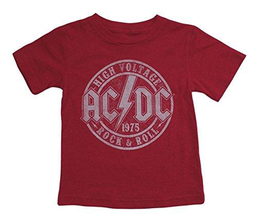 AC DC Little Toddler T Shirt