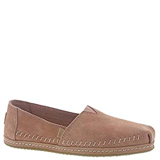 TOMS Women's Alpargata Leather Wrap Toms Sand Pink Pig Suede Leather Wrap 11 B US (B07M7KLRWY) | Amazon price tracker / tracking, Amazon price history charts, Amazon price watches, Amazon price drop alerts