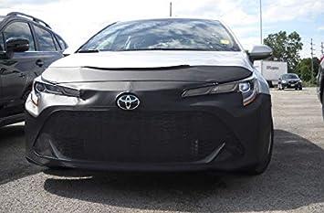 Vinyl Black LeBra Front End Cover Toyota Corolla