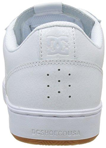 Dc De Astor Gomme Hommes Blanc Unique blanc Noir Taille Chaussure Noir BrfOqWBn