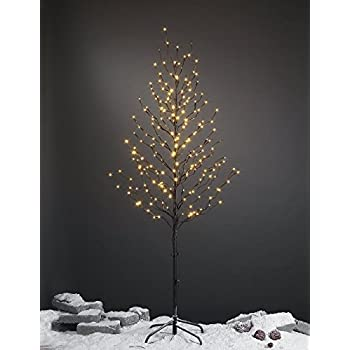 Lightshare 6Ft 240L LED Star Light Tree,  Home/Festival/Party/Christmas,Indoor And Outdoor Use,Warm White