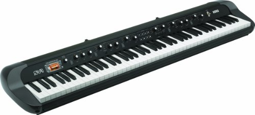 Korg SV188BK - 88 - Key Digital Piano with Vintage Sounds, Black