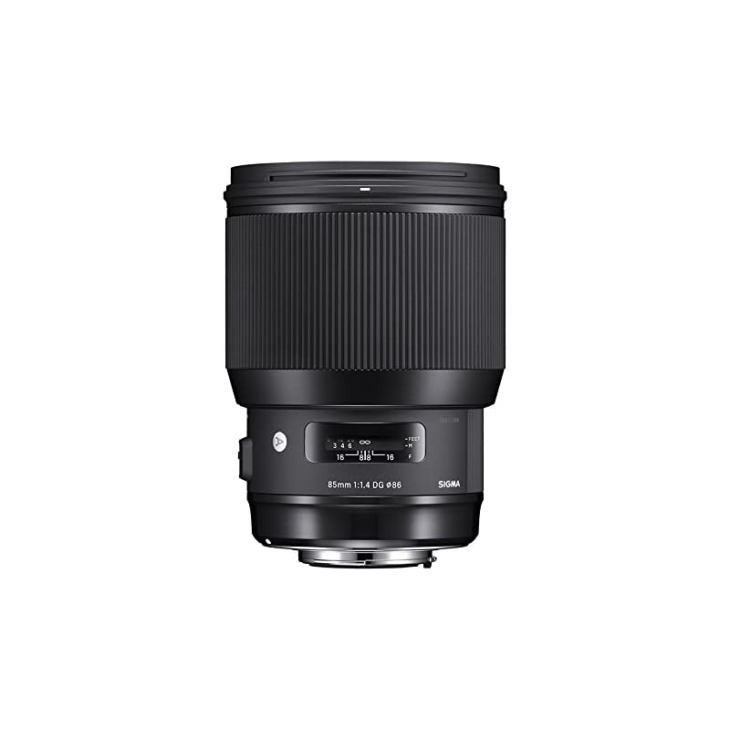 Sigma 85mm f/1.4 DG HSM Art Lens for Nik