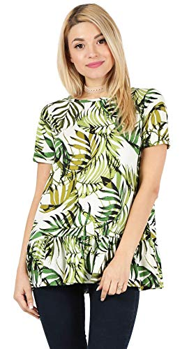 See the TOP 10 Best<br>Plus Size Leaf Print Zip-Front Dress