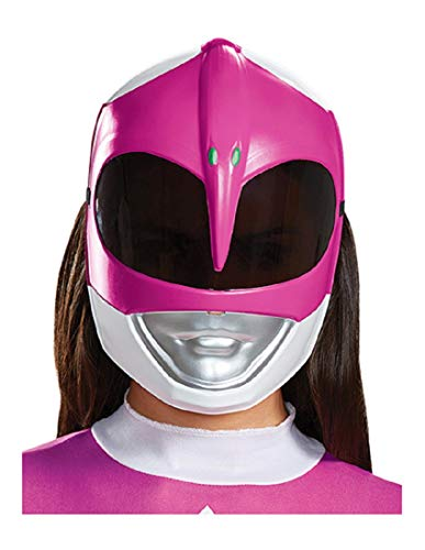 Disguise Women's Pink Ranger Adult Mask, One Size ()