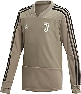 87a559386 adidas 2018-2019 Juventus Training Top (Clay) - Kids  Amazon.co.uk ...