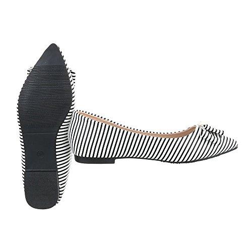 Ital-Design - Cerrado Mujer blanco y negro