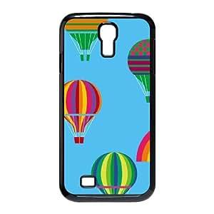 Hot Air Ballon Samsung Galaxy S4 9500 Cell Phone Case Black toy pxf005_5768710
