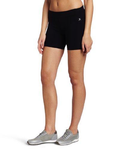 - Danskin Women's Five Inch Bike Short, Black, Large