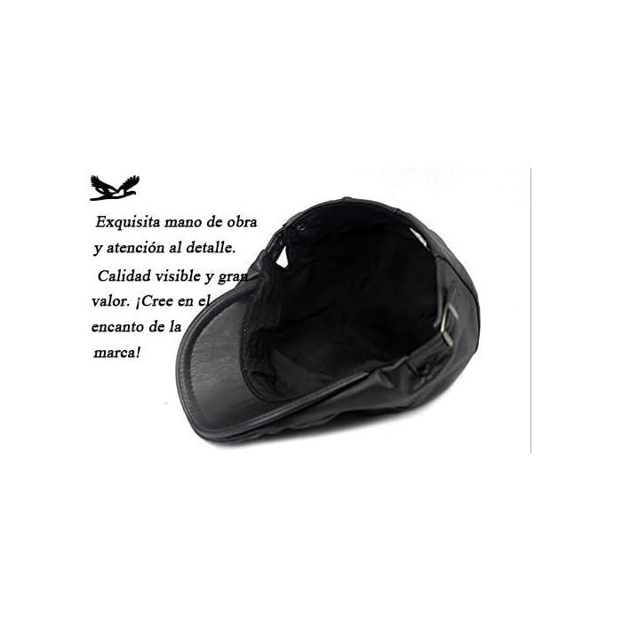 41VZqBUL89L Boinas Suave, cómodo y flexible; Conveniente para al al aire libre.Pliega para su almacenamiento En general, se trata de un casquillo de golf de peso ligero y elegante que es realmente grande para cualquier actividad o salidas PU(Poliuretano)