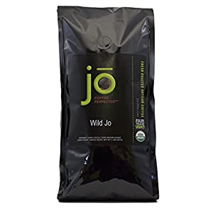 WILD JO: 2 lb, Dark French Roast Organic Whole Bean Coffee, Bold Strong Rich Wicked Good Coffee! Great Brewed or Espresso, USDA Certified Fair Trade Organic, 100% Arabica Coffee, NON-GMO from Specialty Java Inc.