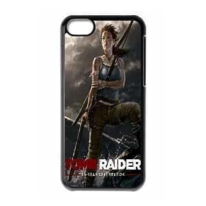 Generic Case Tomb Raider Lara Croft For iPhone 5C Q2A7298588