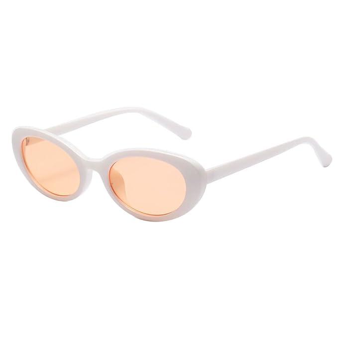 Oval Mod Retro Gafas protectoras Vintage Kurt Cobain gafas ...