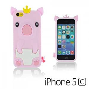 OnlineBestDigital - Piggy Style Silicone Case for Apple iphone 6 4.7 - Pink