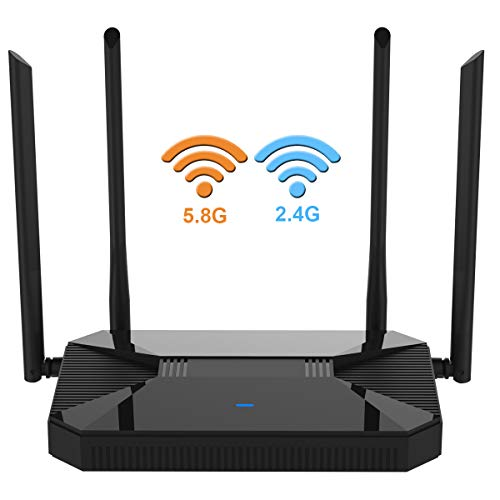 【Newest 2019】 Wireless WiFi Router High Speed Gaming Router Up