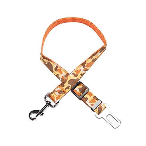 Adjustable Dog Car Safety Seat Belt Harness (Blue) - 9