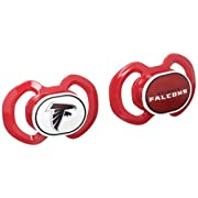 Baby Fanatic Atlanta Falcons 2 Piece Pacifier Set