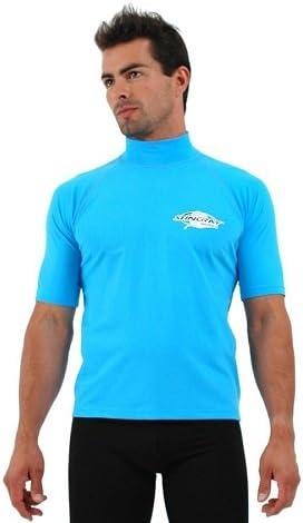 Black Sun Emporium Plus Size Rash Guard Swim Shirt UV Protection Men /& Women