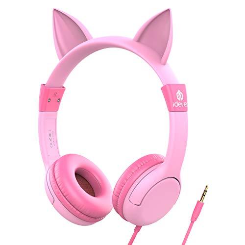 Kids Headphones, iclever Volume Limiting Headphones for Kids, Children...