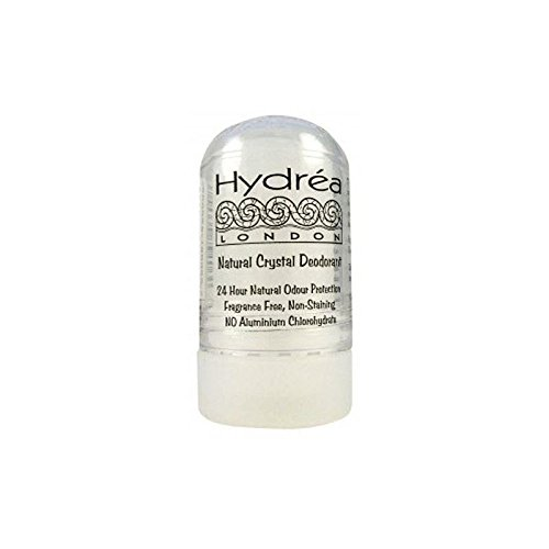 Hydrea London Natural Crystal Deodorant (60g) (Pack of 6)