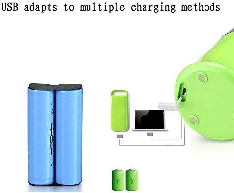STSE Blender portátil Recargable Exprimidor Copa, Mini USB Blender con 6 Cuchillas En 3D, 380 ml de Jugo de Mezclador Copa de Jugo con Hielo triturado y Batido Batido