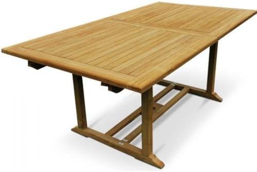 Table de jardin en Teck Grade A: Amazon.fr: Cuisine & Maison