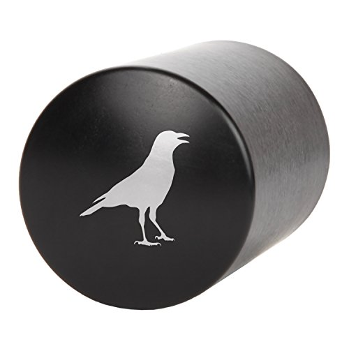 Crow Automatic Bottle Opener - Laser Etched Design - Bottle Opener With Catcher - Fast Bottle Opener For Parties, Events Or Everyday Use by Modern Goods Co (Image #1)