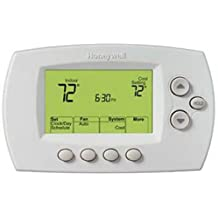 "Honeywell Wi-Fi 7-Day Programmable Thermostat (RTH6580WF), works with Amazon Alexa, ""Requires C Wire"""