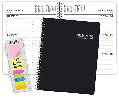 Premium Planner 2019-2020 Academic Year Planner - 8x10-14 Months (June 2019 Through July 2020)