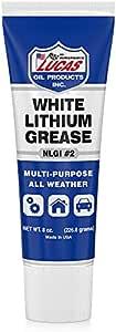 Lucas Oil 10533 White Lithium Grease - 8 oz. Squeeze Tube
