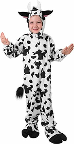 Classic Child Cow Costume: Child Small Size 4-6 - Cow Costumes On Sale