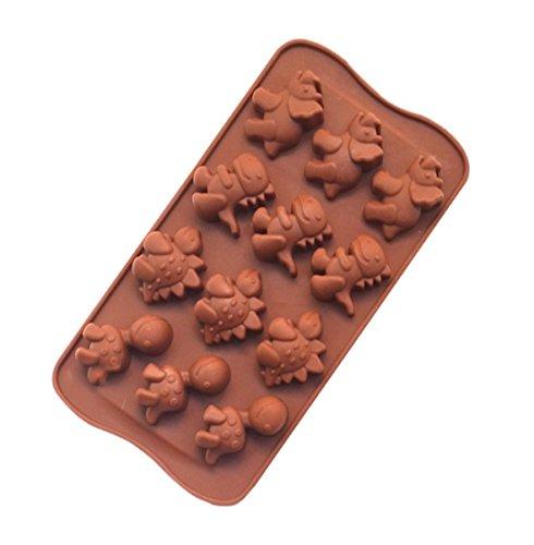 Interbusiness Silicone Candy Chocolates Dinosaur product image