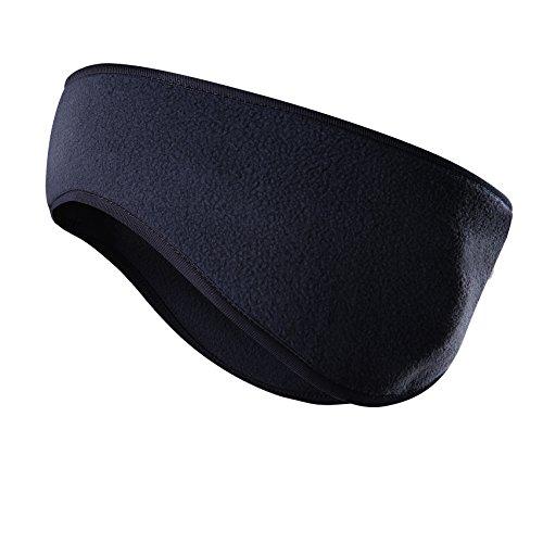 Headband Fleece (JOEYOUNG Fleece Ear Warmers/Muffs Headband for Men & Women Kids Perfect for Winter Running Yoga Skiing Work Out Riding Bike in Cold and Freezing Days)
