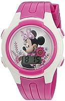 Disney Minnie Mouse Girl's Quartz Pink C...