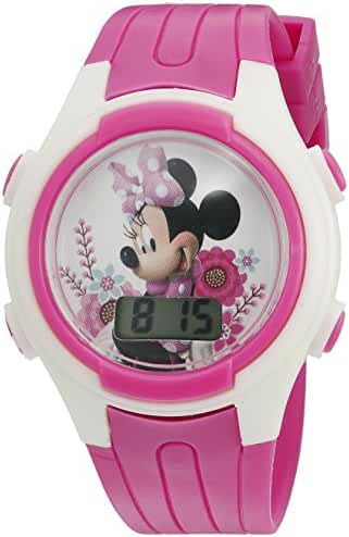 Disney Minnie Mouse Girl's Quartz Pink Casual Watch (Model: MINKD715CT)