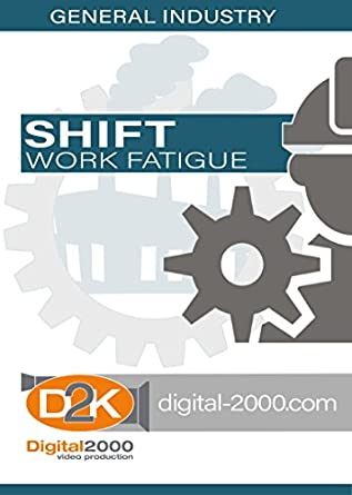 shift work preventing fatigue safety training dvd amazon com