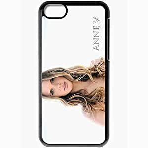 Personalized iPhone 5C Cell phone Case/Cover Skin Anne Vyalitsyna Celebrities Black