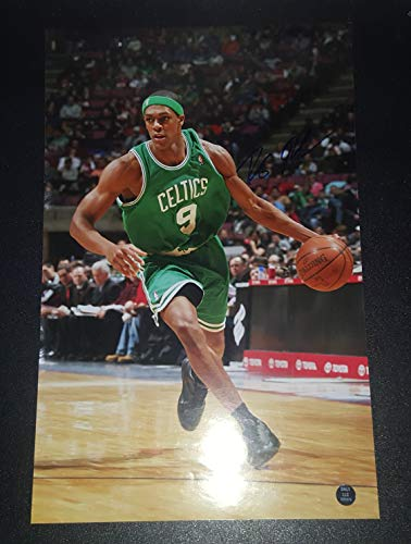 Rajon Rondo - Autographed Signed 11x17 inch Photograph - BOSTON CELTICS NBA Basketball Player