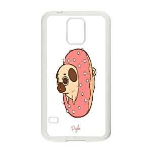 Cute pug Samsung Galaxy S5 I9600 Case Cover, Personalized Samsung Galaxy S5 I9600 Case