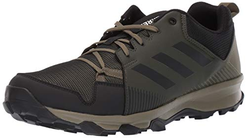 adidas outdoor Men's Terrex Tracerocker Athletic Shoe, Night Cargo/Black/RAW Khaki, 11 D US
